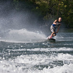 Wakeboarding I : Some fun with the guys wakeboarding on Lake Austin